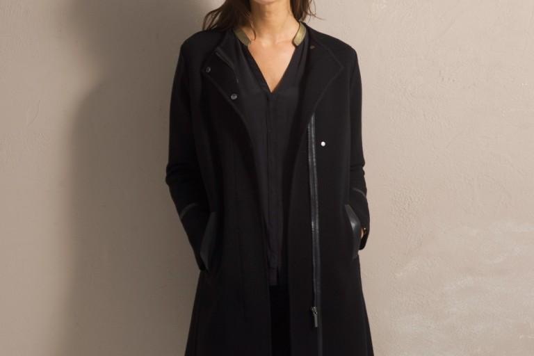 Un manteau en laine chic et tendance