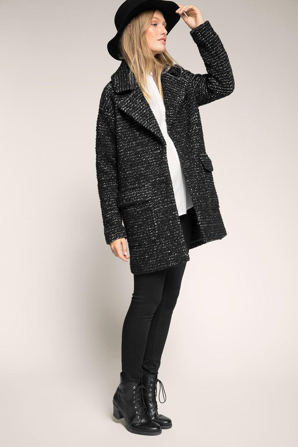 Le meilleur de l'hiver, le manteau en laine